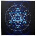 Metatrons cube - Merkaba - star tetrahedron Napkin