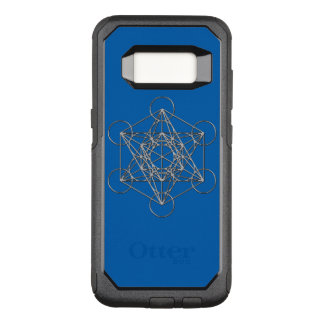 Metatrons Cube OtterBox Commuter Samsung Galaxy S8 Case