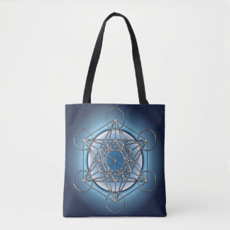 Metatrons Cube Tote Bag