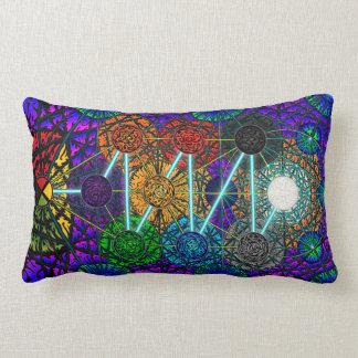 """Metatron's Tree of Life 13"""" X 21"""" Lumbar Pillow"""