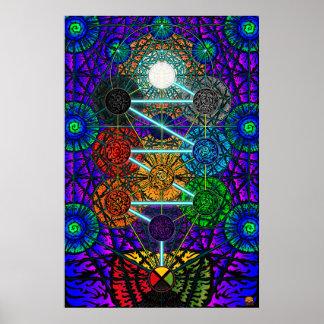 Metatron's Tree of Life Poster