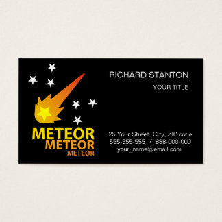 Meteor Business Card