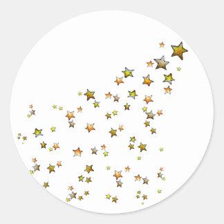 Meteor Classic Round Sticker