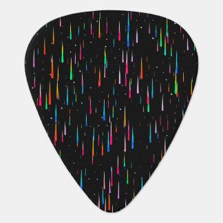 meteor rain guitar pick
