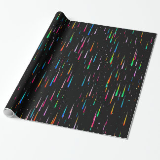 Meteor Rain Wrapping Paper