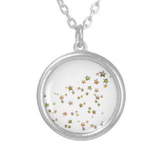 Meteor Silver Plated Necklace