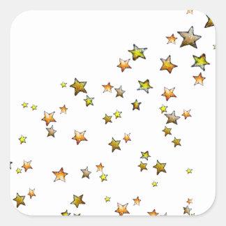 Meteor Square Sticker