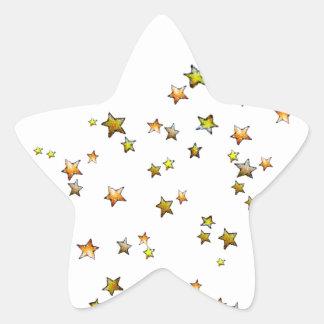 Meteor Star Sticker
