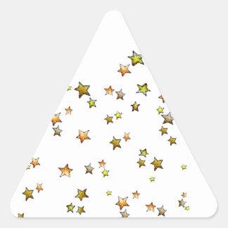 Meteor Triangle Sticker