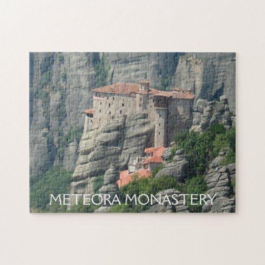Meteora Monastery 1 Jigsaw Puzzle