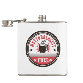 Meteorologist Fuel Hip Flask