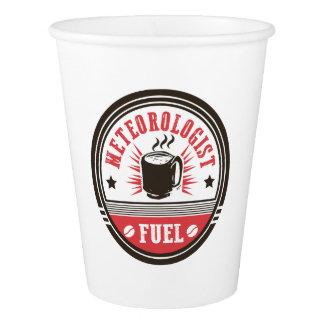Meteorologist Fuel Paper Cup