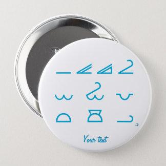 Meteorology 4 Inch Round Button