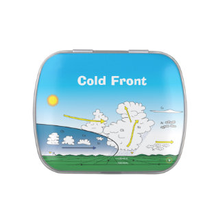 Meteorology cold front