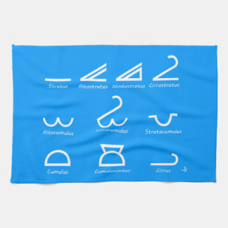 Meteorology Kitchen Towel