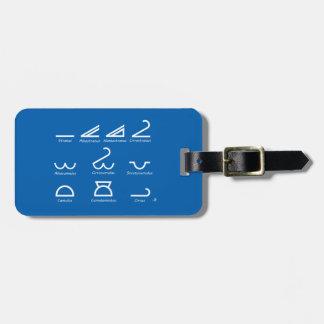 Meteorology Luggage Tag