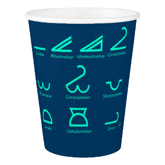 Meteorology Paper Cup