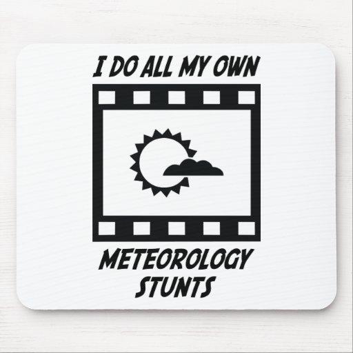 Meteorology Stunts Mouse Pad