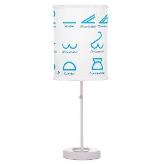 Meteorology Table Lamp