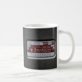 meter plate coffee mug