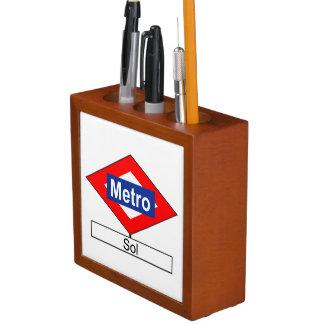 Meter Sun Madrid Desk Organizer