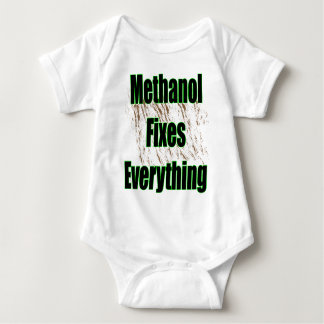 Methanol Fixes Everything 1 Baby Bodysuit