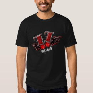 Method 77 Dice Dark T-shirts
