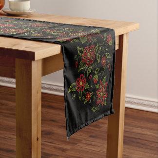 Metis Art Table Runner Native Beading Decor