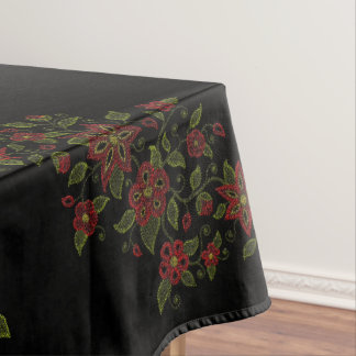 Metis Art Tablecloth Native Beading Dining Decor