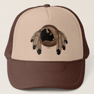 Metis First Nation Cap Buffalo Wildlife Cap