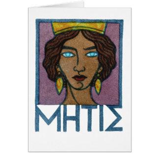 Metis Greeting Card