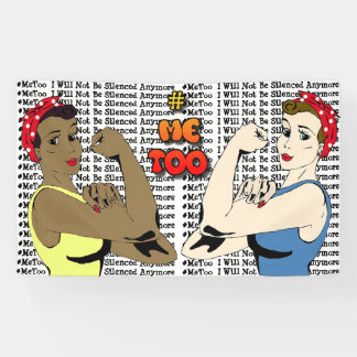 #MeToo Me Too Campaign Banner