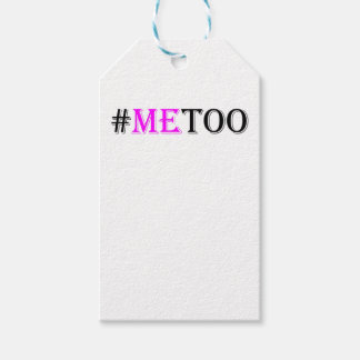 #METOO Movement For Womens Rights And Equality Gift Tags