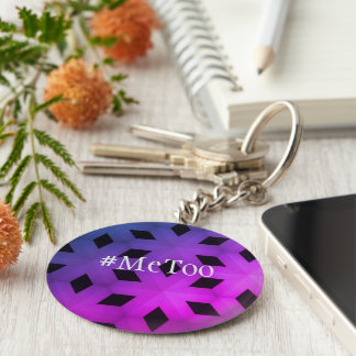 MeToo Statement Keychain