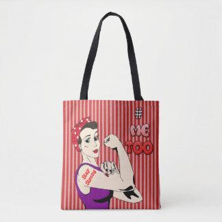 #MeToo  Warrior Women Tote Bag