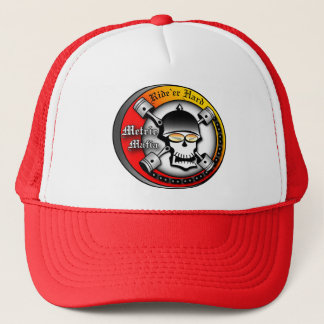 Metric Mafia -  rider hard! Trucker Hat