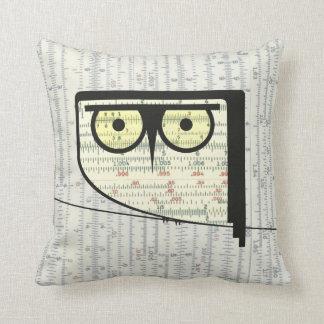 Metric Owl Pillow