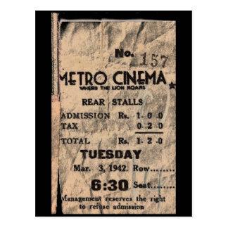metro cinema postcard