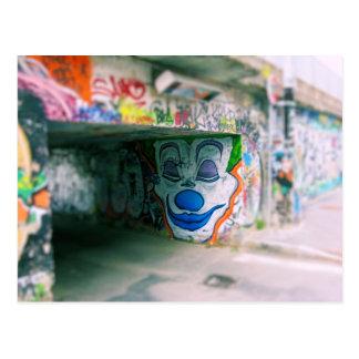 Metro Graffiti - Milano, Italia Postcard