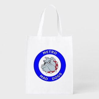 Metro Mad Dogs Reusable Grocery Bag (v2)