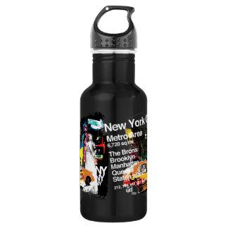 Metro New York City 532 Ml Water Bottle
