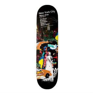 Metro New York City Skate Board Decks