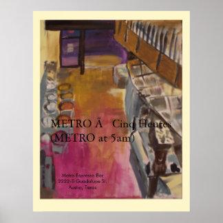 METRO poster art