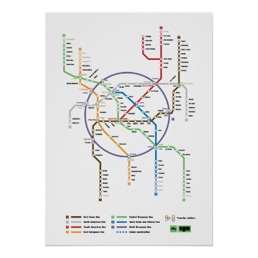 Metro World Print