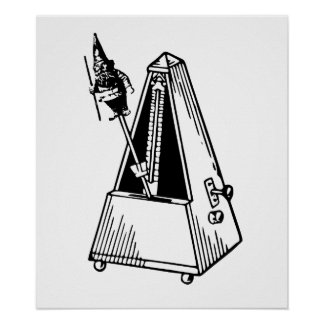 Metrognome Musical Metronome Poster