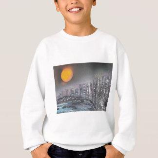 Metropolis at night sweatshirt