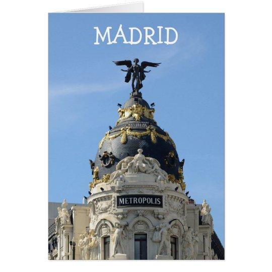 Metropolis, Madrid Card