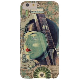 Metropolis Steampunk Woman Barely There iPhone 6 Plus Case