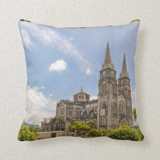Metropolitan Cathedral Fortaleza Brazil Throw Pillow