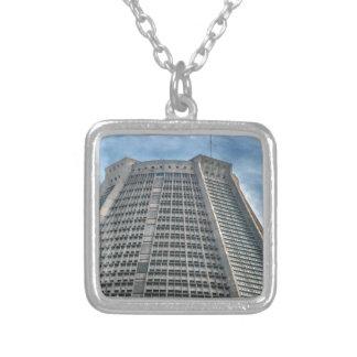 Metropolitan Cathedral Rio de Janeiro Brazil Silver Plated Necklace